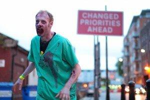 2.8 Hours: Fugindo de zumbis pelas ruas de Londres