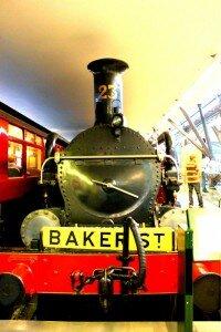 Metrô de Londres, originalmente a vapor, tem 150 anos de idade. Foto: Mapa de Londres