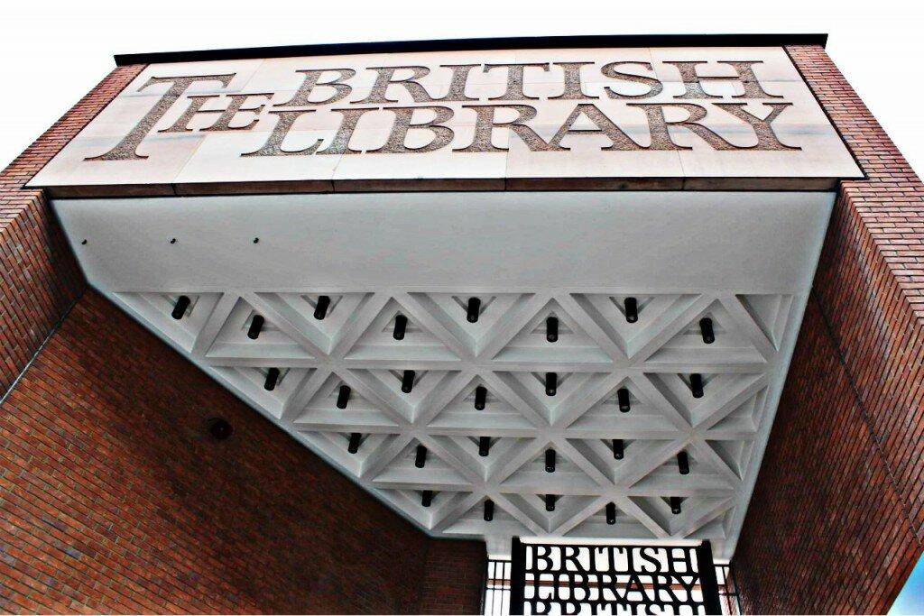 Biblioteca Britânica. Foto: Mapa de Londres