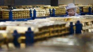 Rainha visita o Banco da Inglaterra