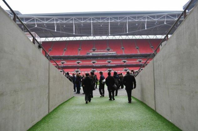 Tour: Estádio de Wembley em Londres