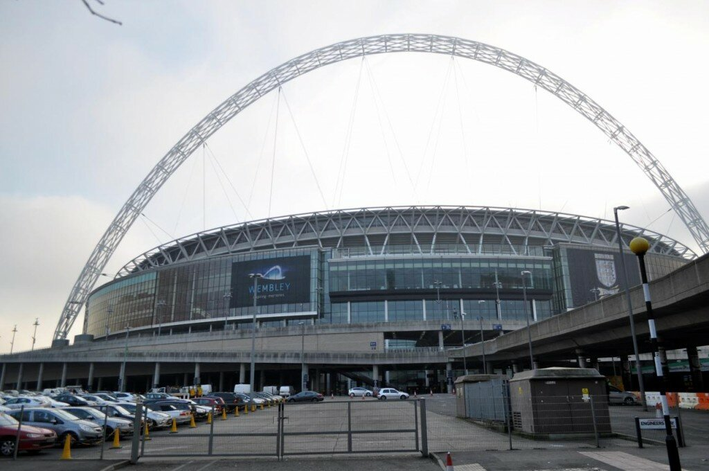 Estádio de Wembley - Foto: Juliana Haas, Mapa de Londres