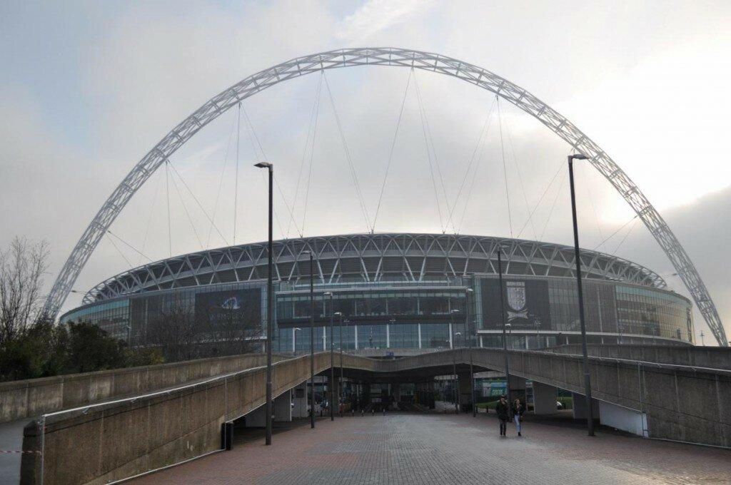 Wembley tem capacidade para 90 mil torcedores. Foto: Mapa de Londres