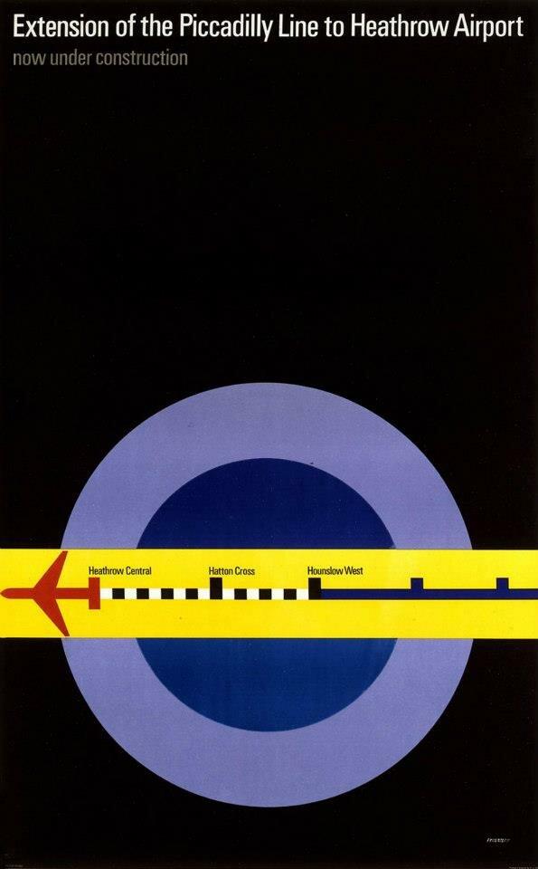 Exposição de pôsteres do metrô de Londres