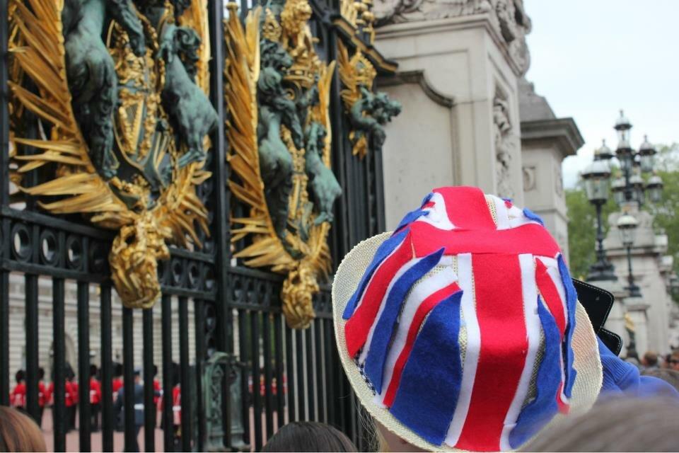 Multidão se aglomera para assistir à Troca da Guarda. Foto: Mapa de Londres