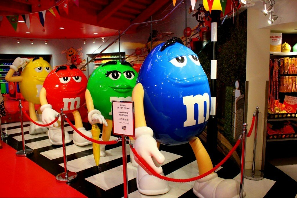 M&M's World - Mapa de Londres