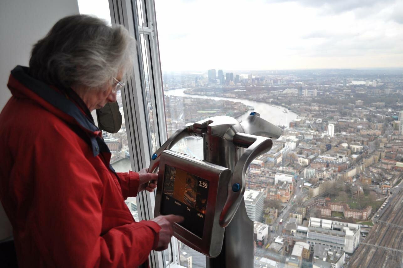 Shard - Foto: Juli Haas, Mapa de Londres
