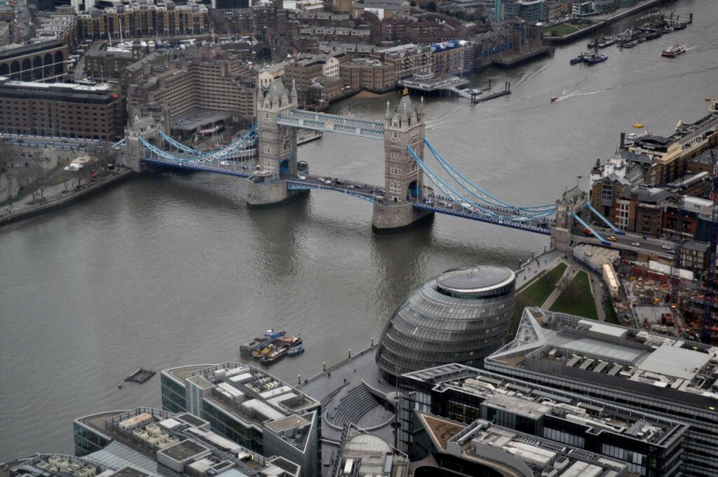 A Vista do Shard. Foto: Juli Haas