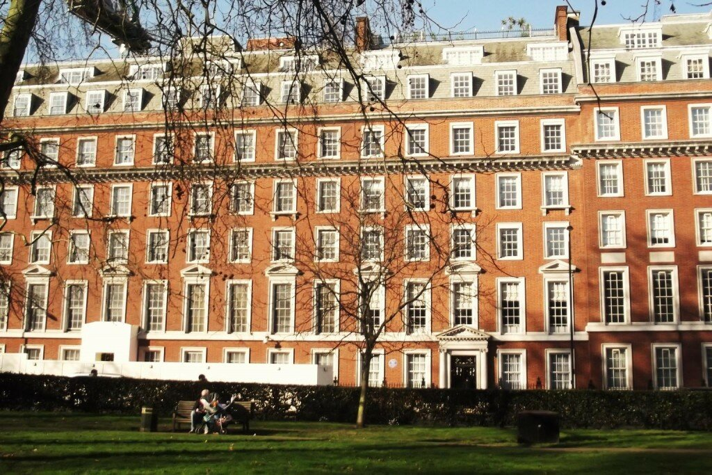Grosvenor Square - Mapa de Londres