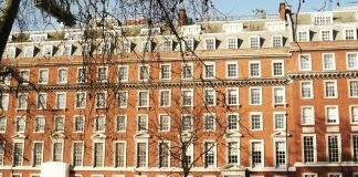 Grosvenor Square - Mapa de Londres. Fotos: Flávio F. Moreira