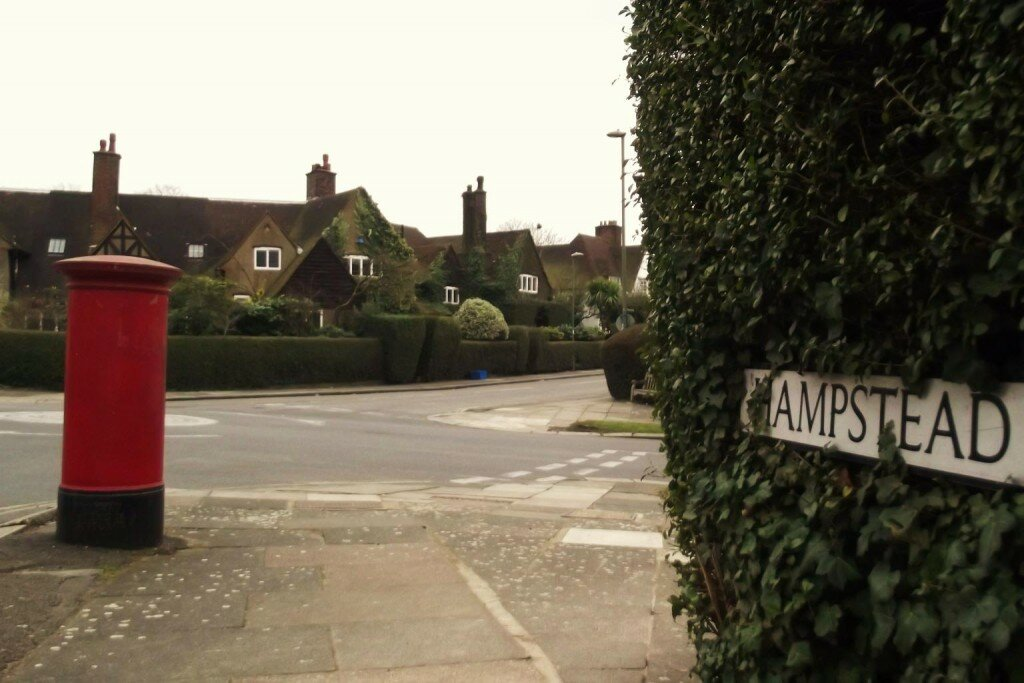 Hampstead Garden Suburb - Mapa de Londres