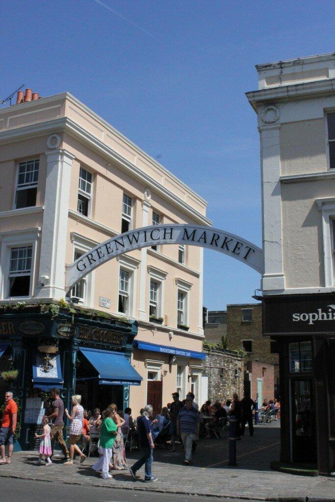 Greenwich Market - Mapa de Londres