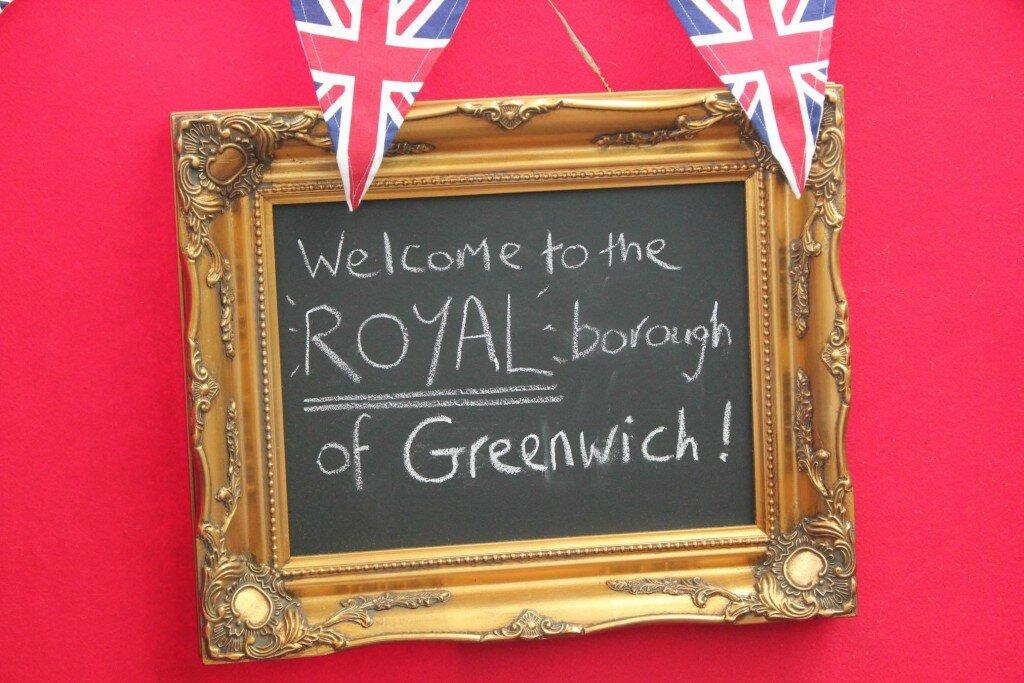 Greenwich é uma linha do meridiano e um distrito de Londres. Foto: Mapa de Londres