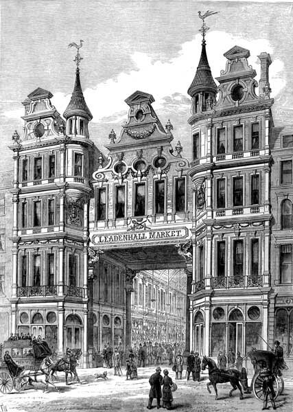 Leadenhall Market - London Illustrated News