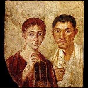 Retrato de Terentius Neo e sua esposa, AD 55– 79. Divulgação: British Museum, © DeAgostini/SuperStock