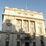 Whitehall - Mapa de Londres. Foto: Flávio F. Moreira