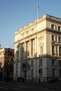 Whitehall - Mapa de Londres