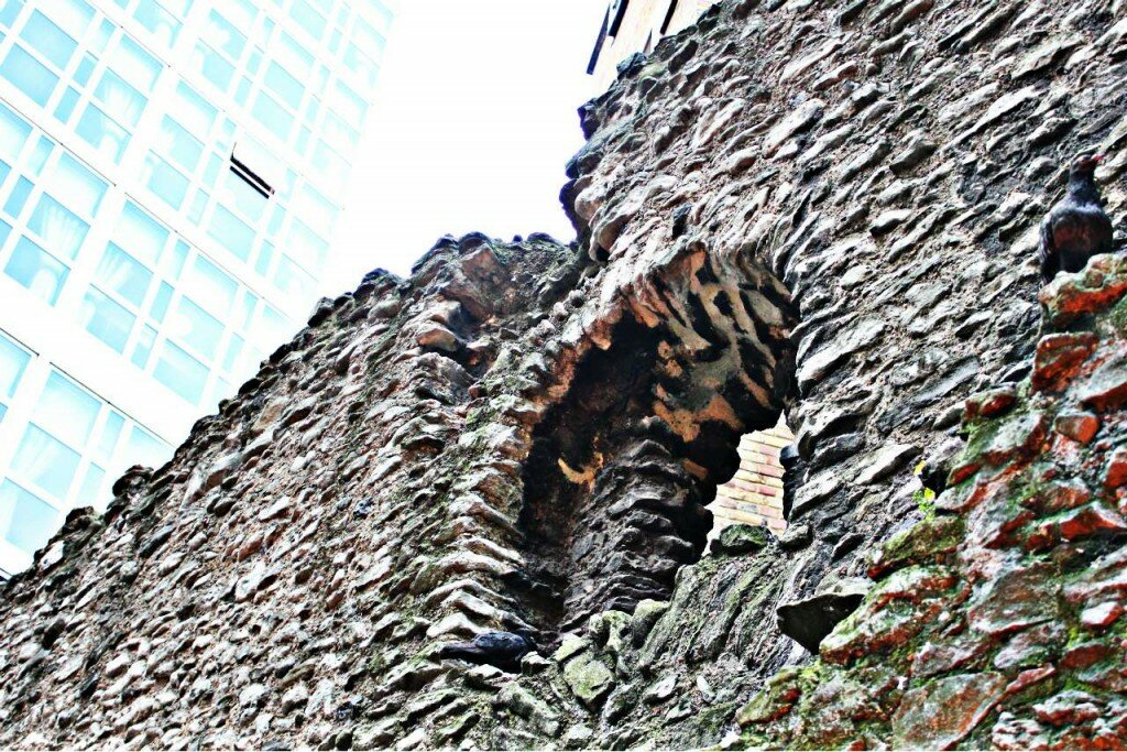 London Wall - Mapa de Londres