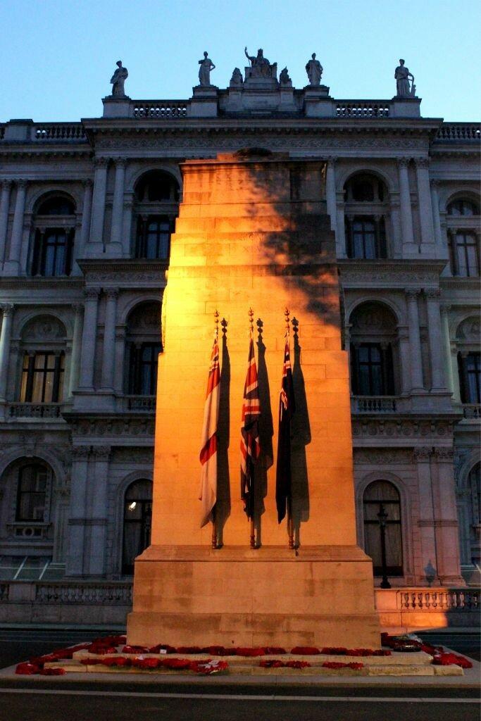 Cenotaph. Foto: Gustavo Heldt, Mapa de Londres