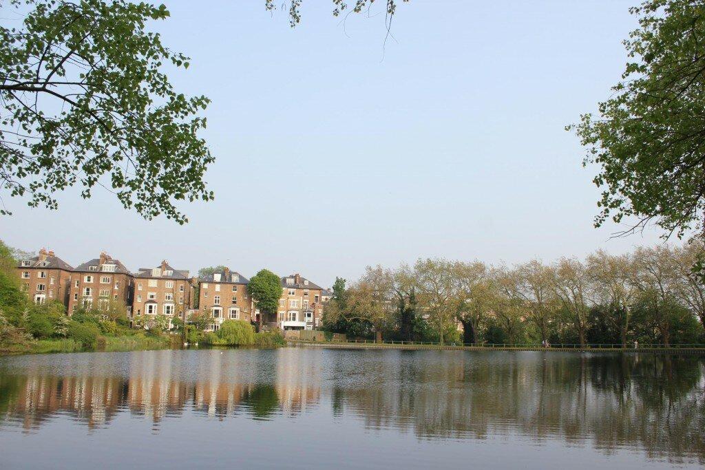 Hampstead Heath é uma das dicas. Foto: Mapa de Londres