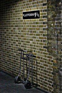 plataforma - harry potter - mapa de Londres