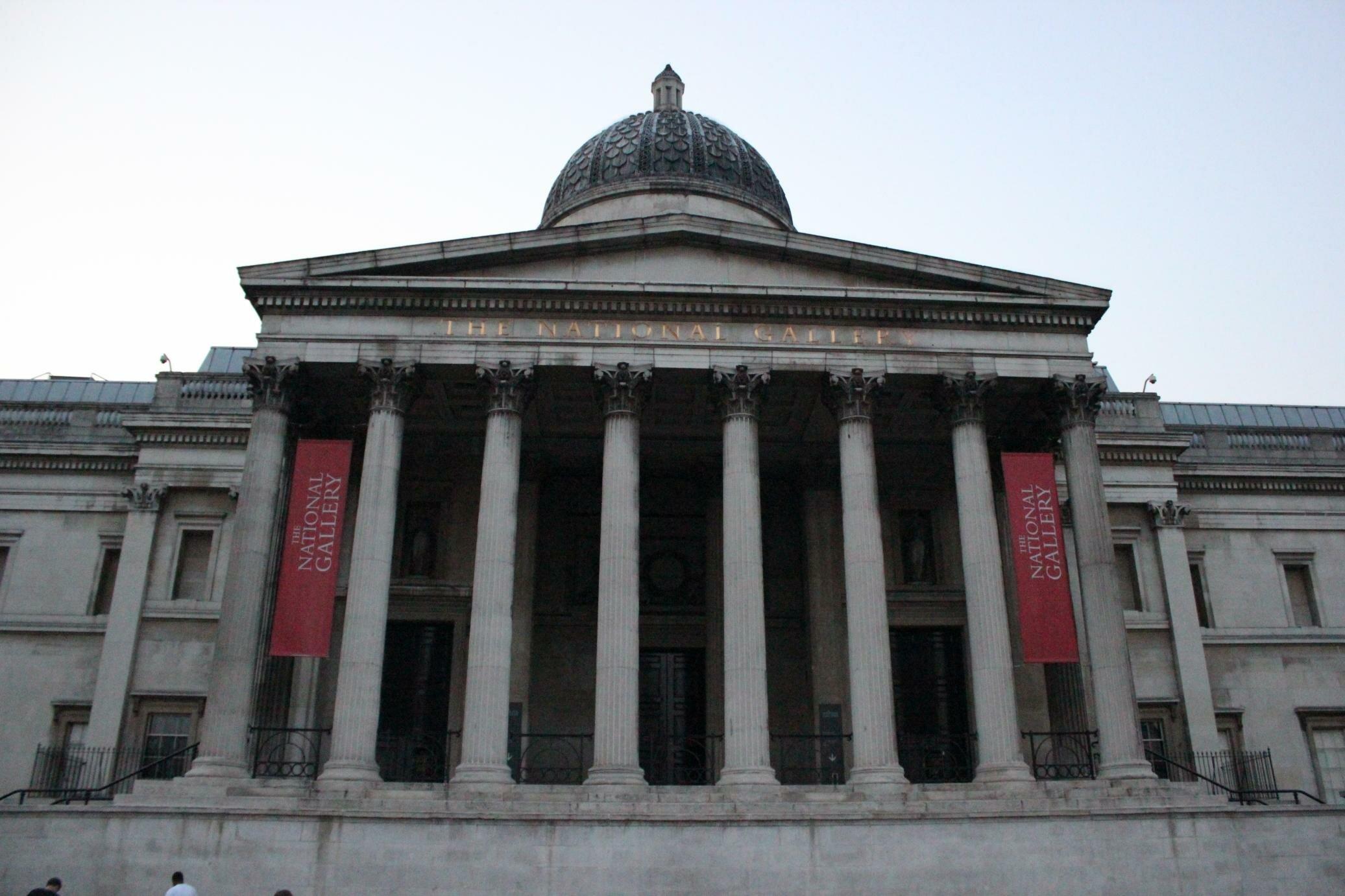 Clique para conhecer a National Gallery. Foto: Mapa de Londres
