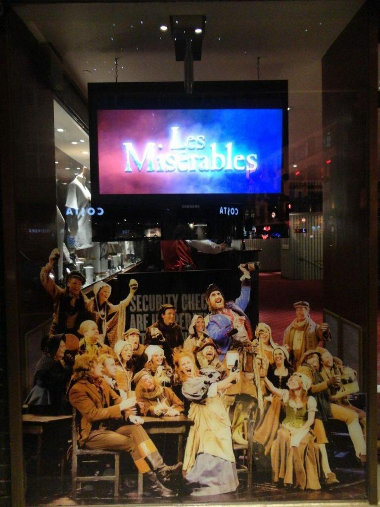 Les Misérables. Foto: Juli Haas, Mapa de Londres