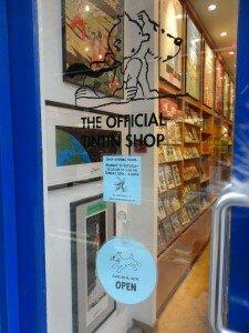 Tintin Shop - Por Juli Haas, Mapa de Londres