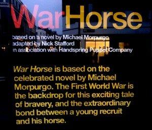 War Horse - Mapa de Londres