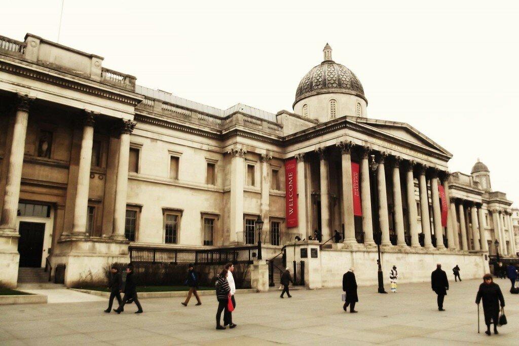 National Gallery - Mapa de Londres