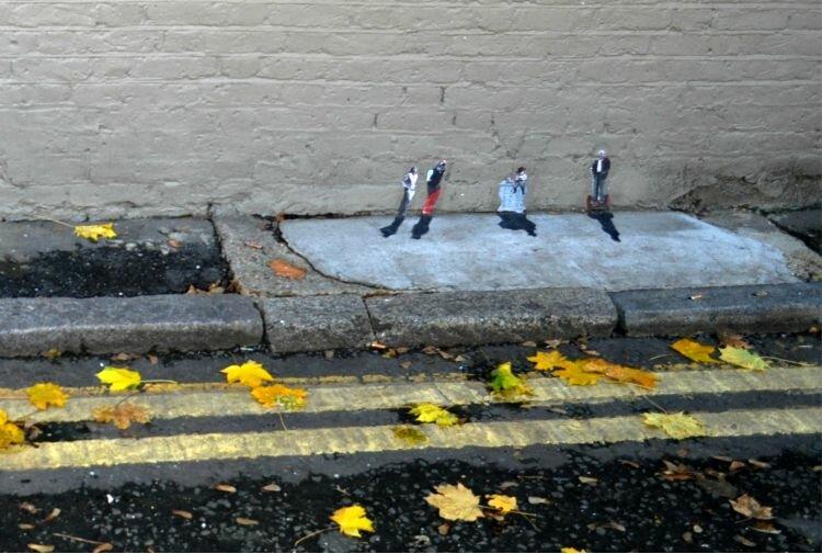 Street Art Tour - Mapa de Londres.