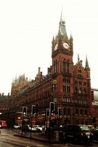 Estação de St. Pancras - Mapa de Londres