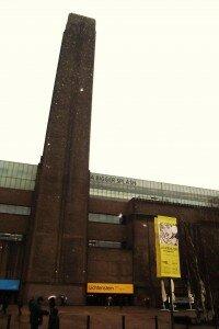Tate Modern - Mapa de Londres