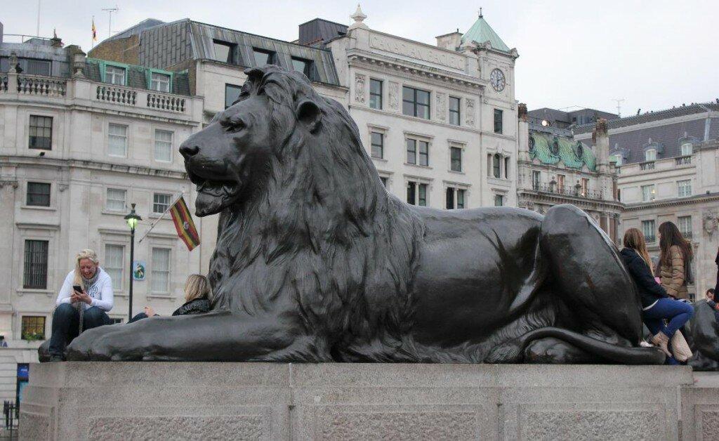Leões de Trafalgar Square