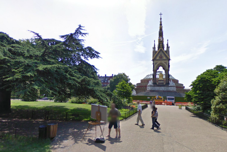 Kensington Gardens - Google Maps