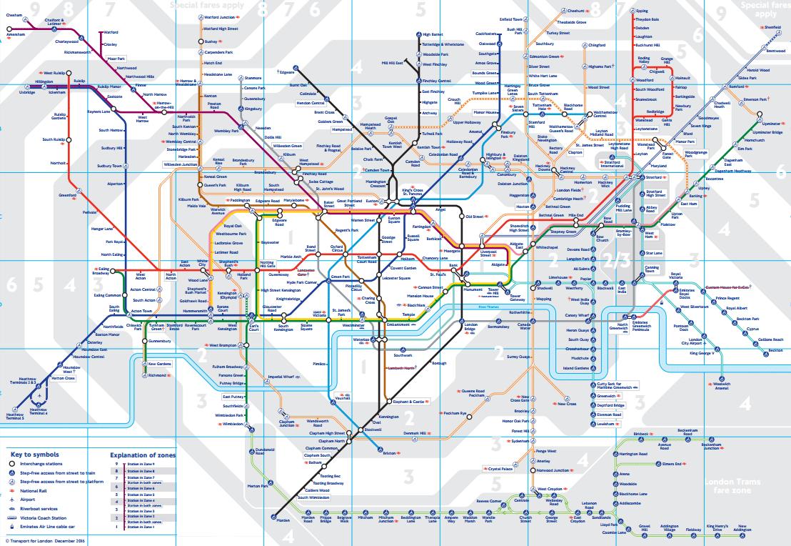 Metrô de Londres: Guia de 2018