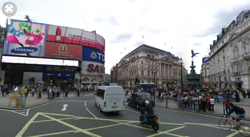 Piccadilly Circus - Google Maps