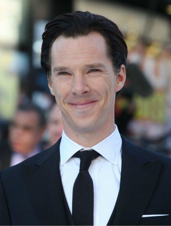 Benedict Cumberbatch na  première de Star Trek. Foto: Shutterstock