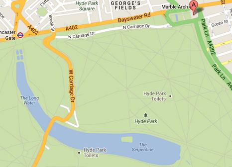 Reprodução, Google Maps