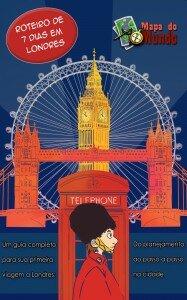 Roteiro de 7 dias em Londres - Mapa de Londres