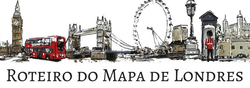 Roteiro do Mapa de Londres