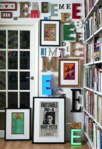 Apartamento do artista em Londres. Foto: Arquivo pessoal