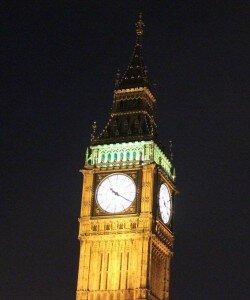 O Parlamento e o Big Ben. Foto: Mapa de Londres