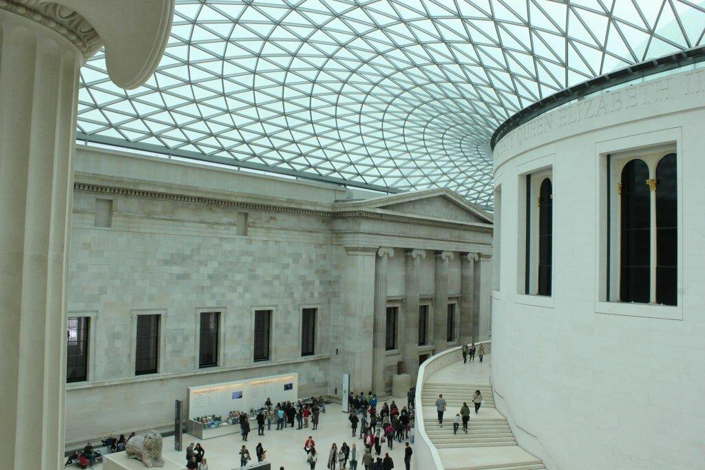 Museu Britânico tem entrada gratuita em Londres. Foto: Mapa de Londres