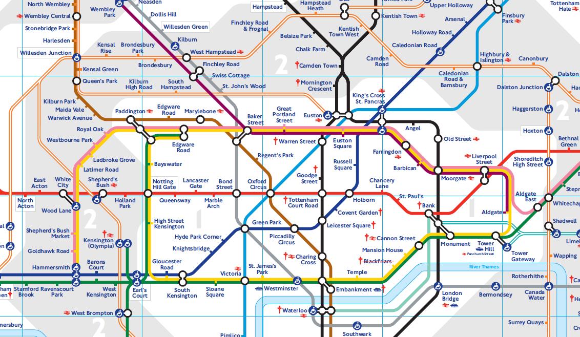 mapa rede metro londres Estações de metrô de Londres | Londres   Mapa de Londres mapa rede metro londres