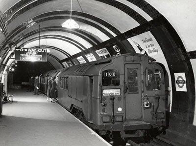 Foto da Aldwych Station. Crédito: Museu do Transporte de Londres