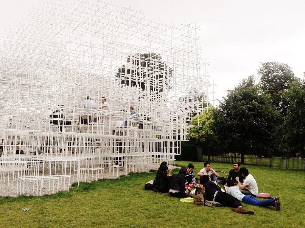 Serpentine Gallery Pavillion - Foto: Flávio Moreira, Mapa de Londres