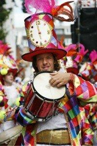 Notting Hill Carnival é destaque de agosto. Foto: Shutterstock