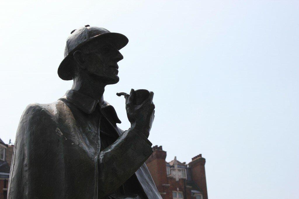 A Londres de Sherlock Holmes. Foto: Mapa de Londres