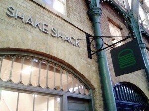 Shake Shack - Mapa de Londres